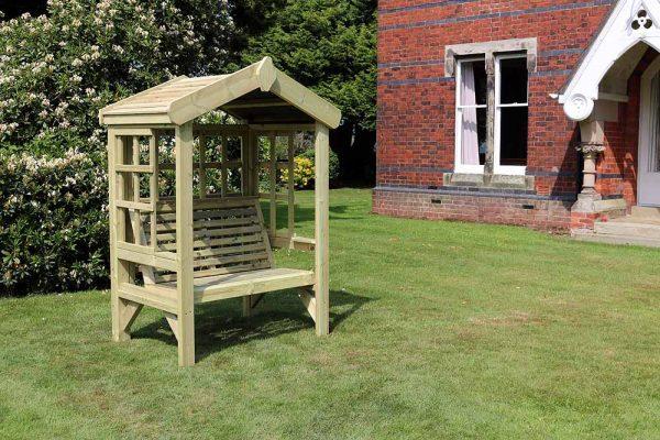 Cottage 2-seat arbour 1