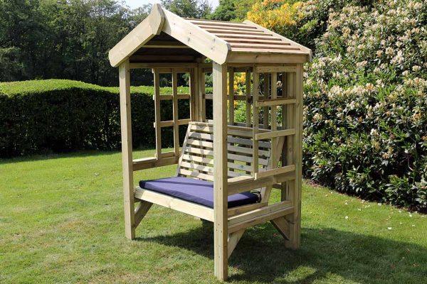 Cottage 2-seat arbour 3