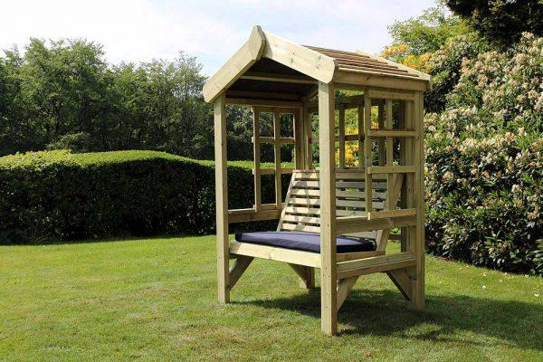 Cottage 2-seat arbour 4