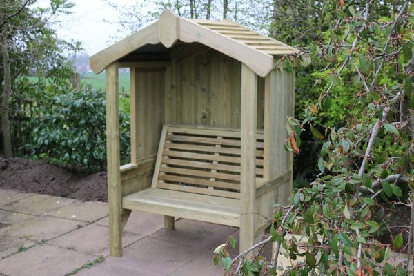 Cottage 2-seater panelled arbour 2