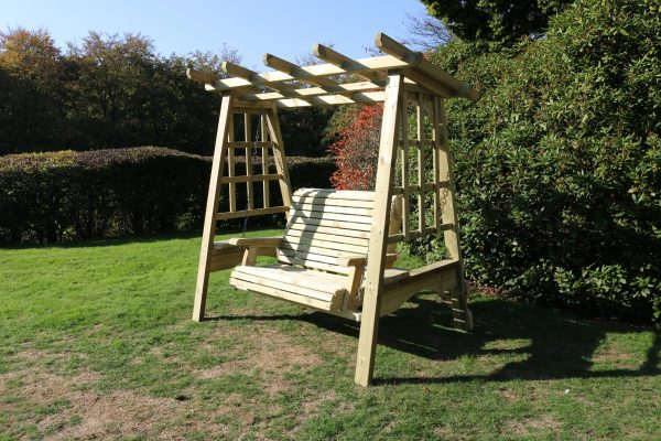 Pergola Swing For 2 Adults Outdoor Wooden Furniture Sw105