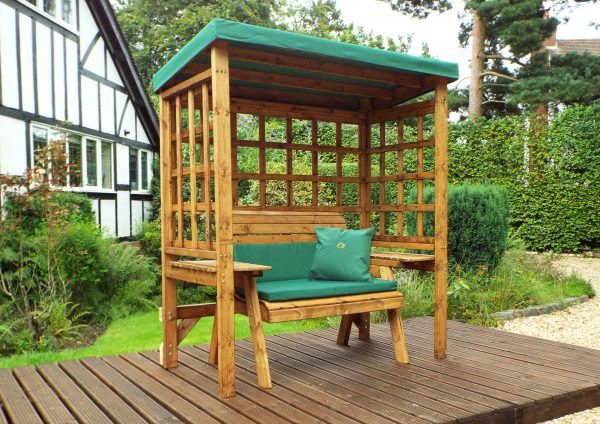 wentworth 2 seat green arbour